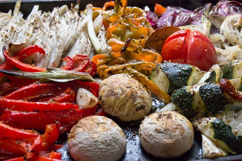 Légumes rôtis