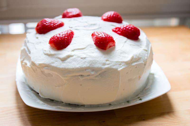 Shortcake japonais aux fraises